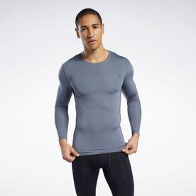 ワークアウト レディ コンプレッション Tシャツ / Workout Ready Compression Tee (グレー)