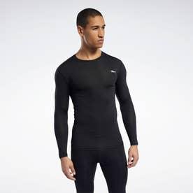 ワークアウト レディ コンプレッション Tシャツ / Workout Ready Compression Tee (ブラック)