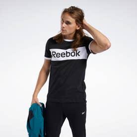 トレーニング エッセンシャルズ リニア ロゴ Tシャツ / Training Essentials Linear Logo Tee (ブラック)
