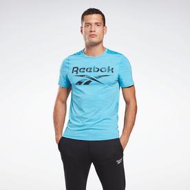 ワークアウト レディ アクティブチル Tシャツ / Workout Ready Activchill T-Shirt (ブルー)