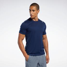 ワークアウト レディ ポリエステル テック Tシャツ / Workout Ready Polyester Tech Tee (ブルー)