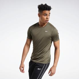ワークアウト レディ ポリエステル テック Tシャツ / Workout Ready Polyester Tech Tee (グリーン)