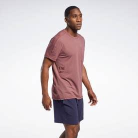 【2021春夏】レズミルズ ポケット Tシャツ /  Les Mills Pocket T-Shirt (レッド)