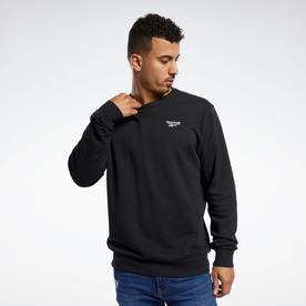 クラシックス ベクター クルー スウェットシャツ / Classics Vector Crew Sweatshirt (ブラック)