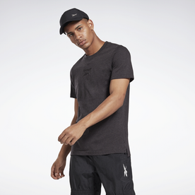 トレーニング エッセンシャルズ メランジ Tシャツ / Training Essentials Melange Tee (ブラック)