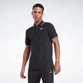 トレーニング エッセンシャルズ ポロシャツ Training Essentials Polo Shirt (ブラック)