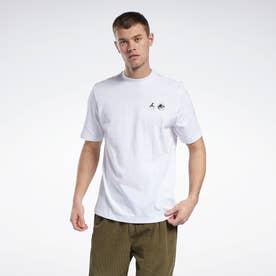 ジュラシック・パーク Tシャツ / Jurassic Park Amber T-Shirt (ホワイト)