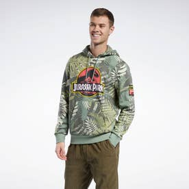 ジュラシック・パーク カモ スウェットシャツ / Jurassic Park Camo Sweatshirt (グリーン)