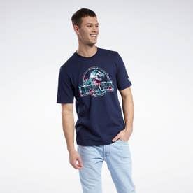 ジュラシック・パーク Tシャツ / Jurassic Park T-Shirt (ブルー)