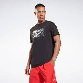 カモ オールオーバー プリント Tシャツ / Camo Allover Print T-Shirt (ブラック)