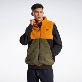 クラシックス キャンピング ポーラフリース ベスト / Classics Camping Polar Fleece Vest (オレンジ)