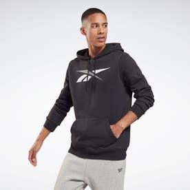 トレーニング エッセンシャルズ ベクター プルオーバー フーディー / Training Essentials Vector Pullover Hoodie (ブラック)