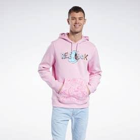 ゴーストバスターズ マンチャー スウェットシャツ / Ghostbusters Muncher Sweatshirt (ピンク)