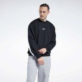 クラシックス バック ベクター クルー スウェットシャツ / Classics Back Vector Crew Sweatshirt (ブラック)