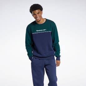 クラシックス リニア クルー スウェットシャツ / Classics Linear Crew Sweatshirt (ブルー)
