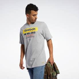 Reebokクラシックス GP ゴールド Tシャツ / Classics GP Gold Tee (グレー)