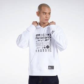 CL X BlackEyePatch フーディー / CL X BEP HD (ホワイト)