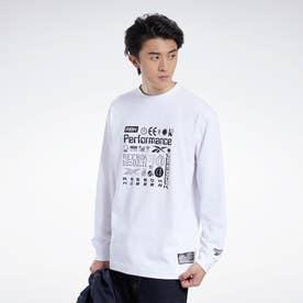 CL X BlackEyePatch ロングスリーブ Tシャツ / CL X BEP LS Tee2 (ホワイト)