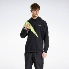 クラシックス PVT EMB フーデッド スウェットシャツ / Classics PVT EMB Hooded Sweatshirt (ブラック)
