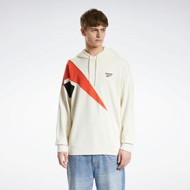 クラシックス PVT EMB フーデッド スウェットシャツ / Classics PVT EMB Hooded Sweatshirt (ホワイト)