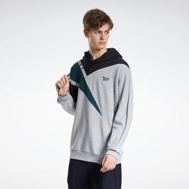 クラシックス PVT EMB フーデッド スウェットシャツ / Classics PVT EMB Hooded Sweatshirt (グレー)