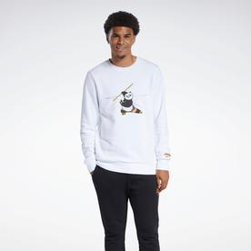 カンフー・パンダ クルースウェットシャツ / Kung Fu Panda Crew Sweatshirt (ホワイト)