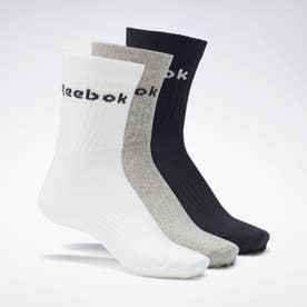 アクティブ コア クルー ソックス 3足組 / Active Core Crew Socks 3 Pairs (グレー)