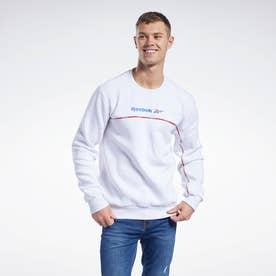 クラシックス リニア クルー スウェットシャツ / Classics Linear Crew Sweatshirt (ホワイト)