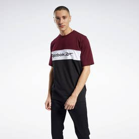 CL F LINEAR TEE (レッド)