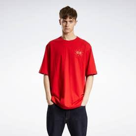 クラシックス CNY マグパイ Tシャツ / Classics CNY Magpie T-Shirt (レッド)