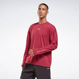 レズミルズR ロング スリーブ シャツ / Les MillsR Long Sleeve Shirt (ピンク)