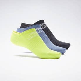 【2020秋冬新作】レズミルズR ローカット ソックス 3足組 / Les MillsR Low-Cut Socks 3 Pairs (ブラック)