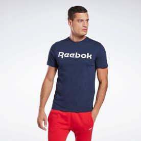 グラフィック シリーズ リニア ロゴ Tシャツ / Graphic Series Linear Logo Tee (ブルー)