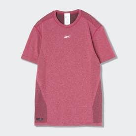 レズミルズR MyoKnit ショートスリーブ Tシャツ / Les MillsR MyoKnit Short Sleeve T-Shirt (ピンク)