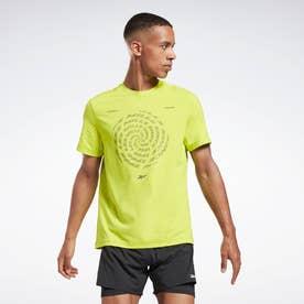 レズミルズR アクティブチル Tシャツ / Les MillsR Activchill T-Shirt (イエロー)