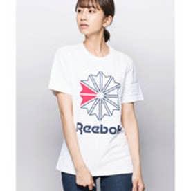 【ピーシーティーP・C・T】REEBOK コットン100%ブラック・ネイビー・ホワイトの3カラー♪ジャスト丈Tシャツ/F GR TEE (WHITE)