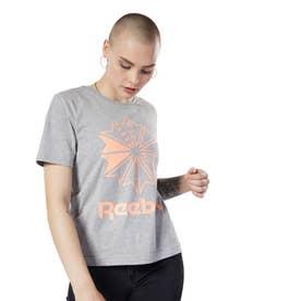 Reebokクラシックス ビッグ ロゴ グラフィック Tシャツ / Classics Big Logo Graphic Tee (グレー)