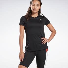 Reebokランニング エッセンシャルズ スピードウィック Tシャツ / Running Essentials Speedwick Tee (ブラック)