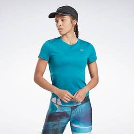 Reebokランニング エッセンシャルズ スピードウィック Tシャツ / Running Essentials Speedwick Tee (ブルー)