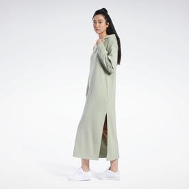 フューチャリスティック ロング ドレス / Futuristic Long Dress (グレー)