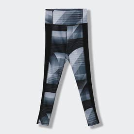 キレイ フィット オールオーバー プリント タイツ / Kirei Fit Allover Print Tights (ブラック)