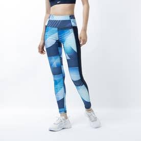キレイ フィット オールオーバー プリント タイツ / Kirei Fit Allover Print Tights (ブルー)