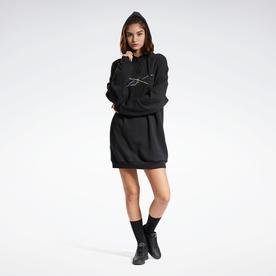 フーディー ドレス / Hoodie Dress (ブラック)