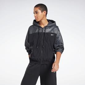 シャイニー ウーブン ジャケット / Shiny Woven Jacket (ブラック)