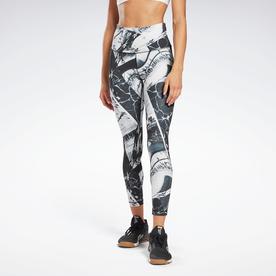 ワークアウト レディ プリンテッド レギンス / Workout Ready Printed Leggings (ブラック)