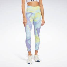 ワークアウト レディ プリンテッド レギンス / Workout Ready Printed Leggings (パープル)