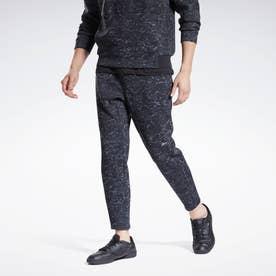 DMX オールオーバー プリント パンツ / DMX Allover Print Pants (ブラック)