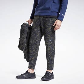 DMX オールオーバー プリント パンツ / DMX Allover Print Pants (グレー)