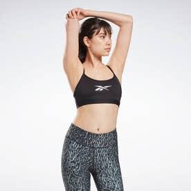 Lux スキニー ストラップ スポーツブラ / Lux Skinny Strap Sports Bra 【返品不可商品】 (ブラック)