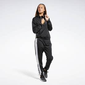 リニア ロゴ フーディー トラックスーツ / Linear Logo Hoodie Track Suit (ブラック)